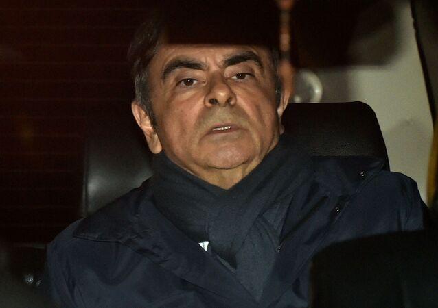 Bývalý ředitel koncernu Nissan Carlos Ghosn
