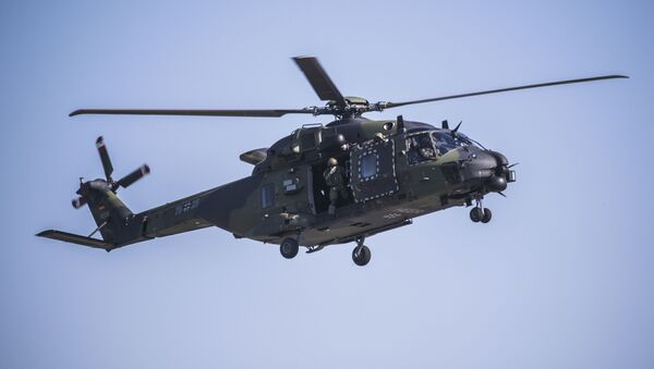 Vrtulník NH90 Bundeswehru  - Sputnik Česká republika