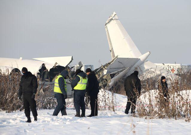 Havárie letadla v Almatě
