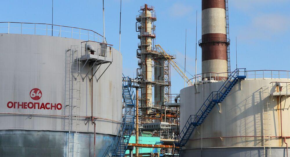 Běloruská rafinerie v Mazyru