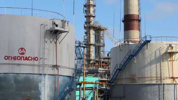 Běloruská rafinerie v Mazyru - Sputnik Česká republika