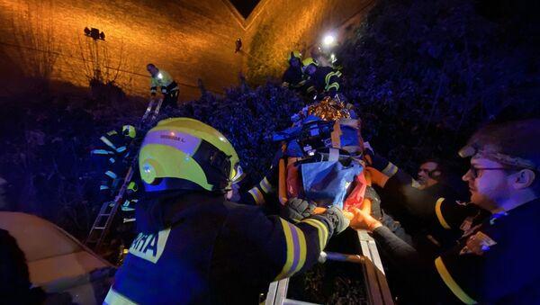 Šestatřicetiletá žena spadla z vyšehradských hradeb v Praze - Sputnik Česká republika