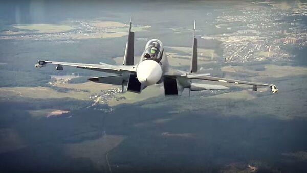 Su-30SM: jedna z nejlepších stíhaček na světě - Sputnik Česká republika