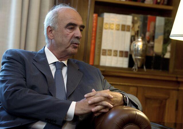 """Hlavní představitel největší opoziční strany Řecka – """"Nové demokracie"""" Vangelis Mejmarakis"""