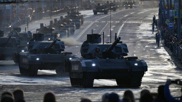 Tank T-14 Armata. Ilustrační foto - Sputnik Česká republika