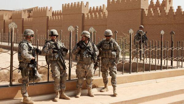 Vojáci NATO v Iráku - Sputnik Česká republika