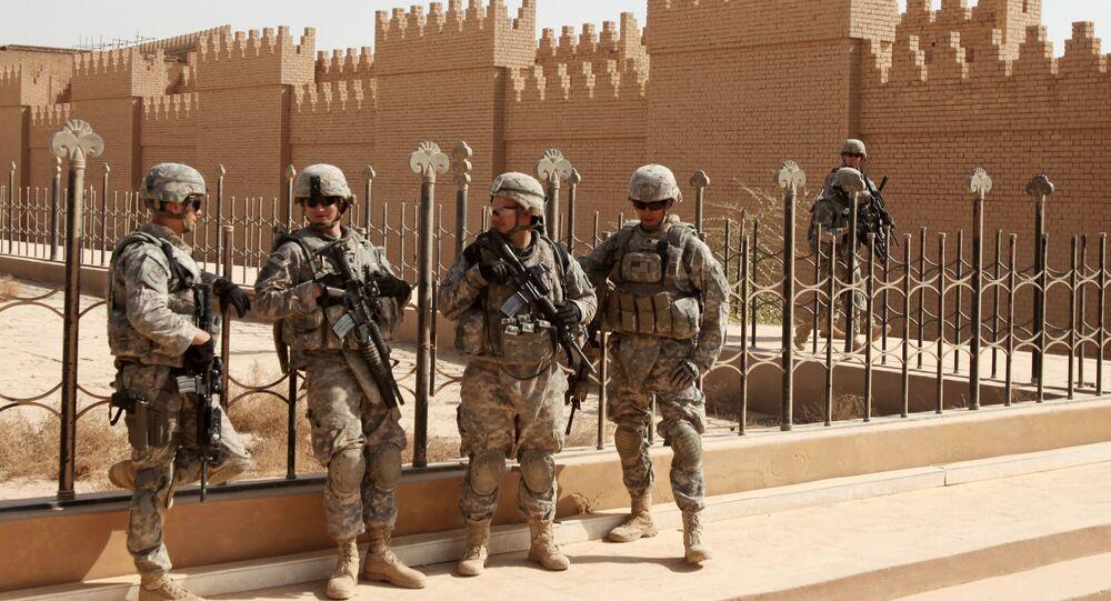 Vojáci NATO v Iráku