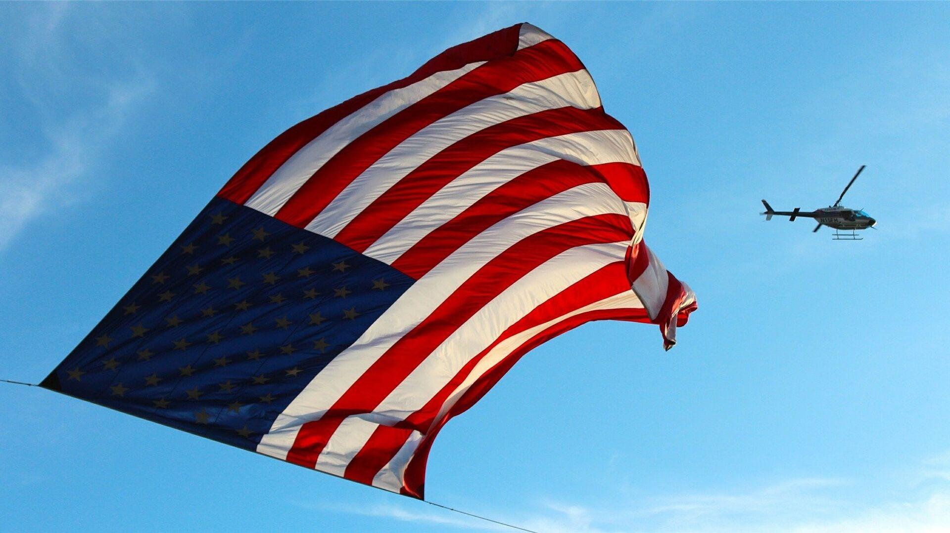 Vlajka Spojených států - Sputnik Česká republika, 1920, 10.07.2021
