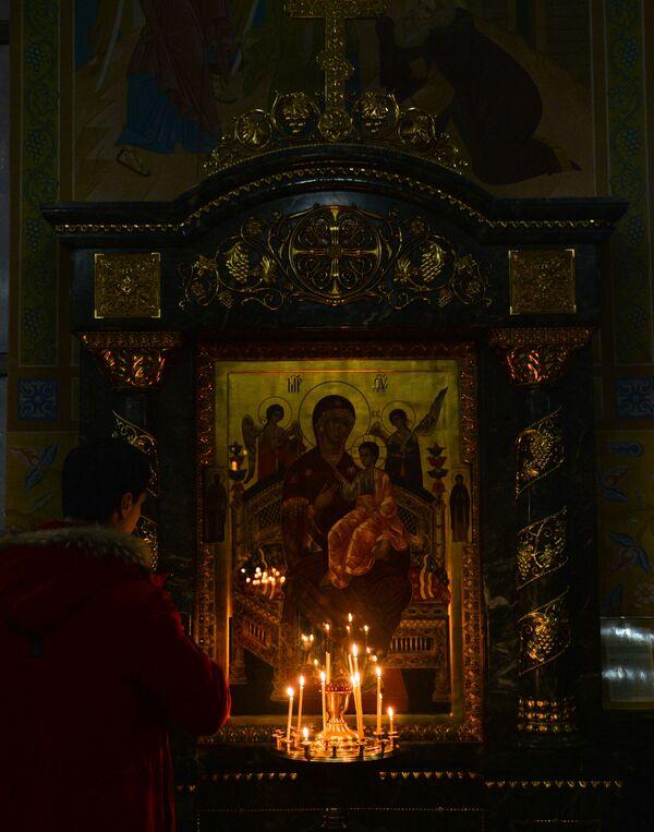 Vánoční bohoslužba v Jekatěrinburgu - Sputnik Česká republika
