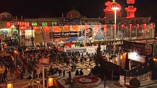 V íránském Kermánu probíhá pohřeb generála Sulejmáního - Sputnik Česká republika