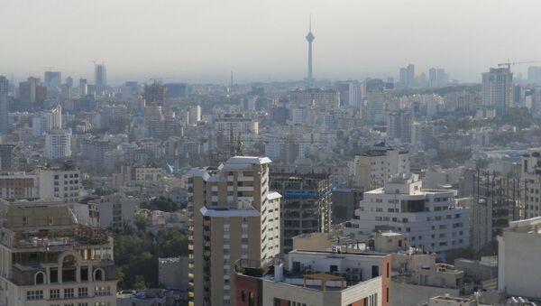Pohled na Teherán. Ilustrační foto - Sputnik Česká republika