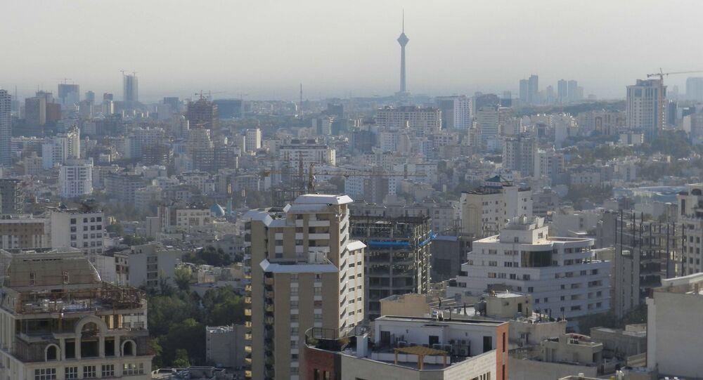 Pohled na Teherán. Ilustrační foto