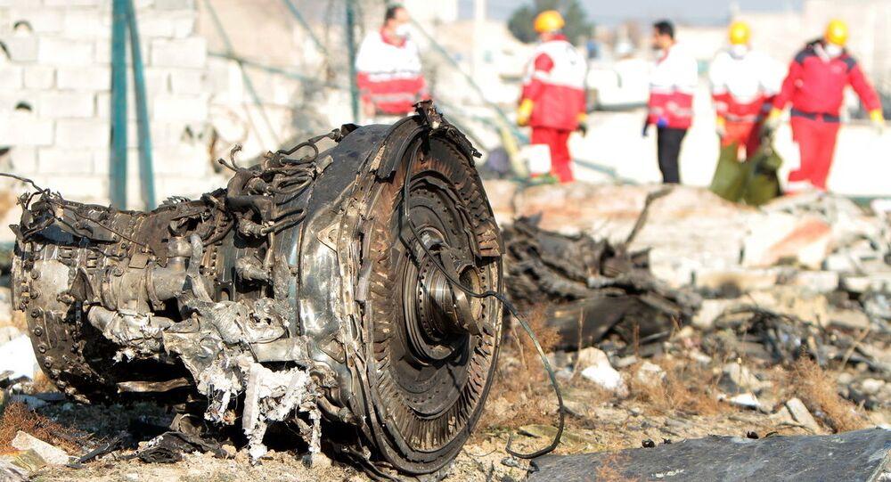 Havárie Boeingu 737-800 v Teheránu