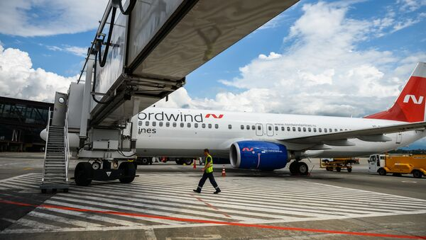 Letadlo společnosti Nordwind Airlines - Sputnik Česká republika