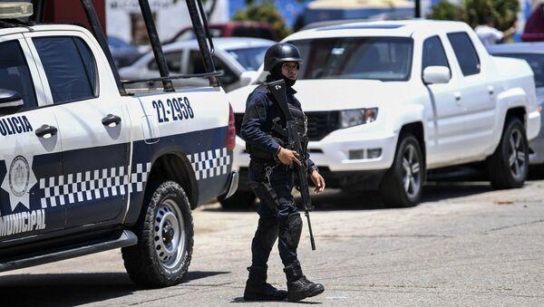 Policie v Mexiku - Sputnik Česká republika