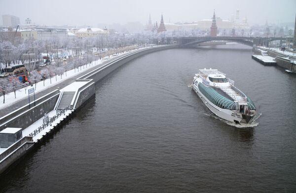 Loď Radisson Royal na řece Moskva - Sputnik Česká republika