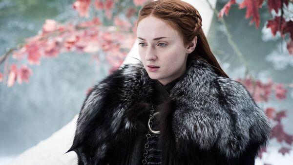 Herečka Sophie Turnerová jako Sansa Stark - Sputnik Česká republika