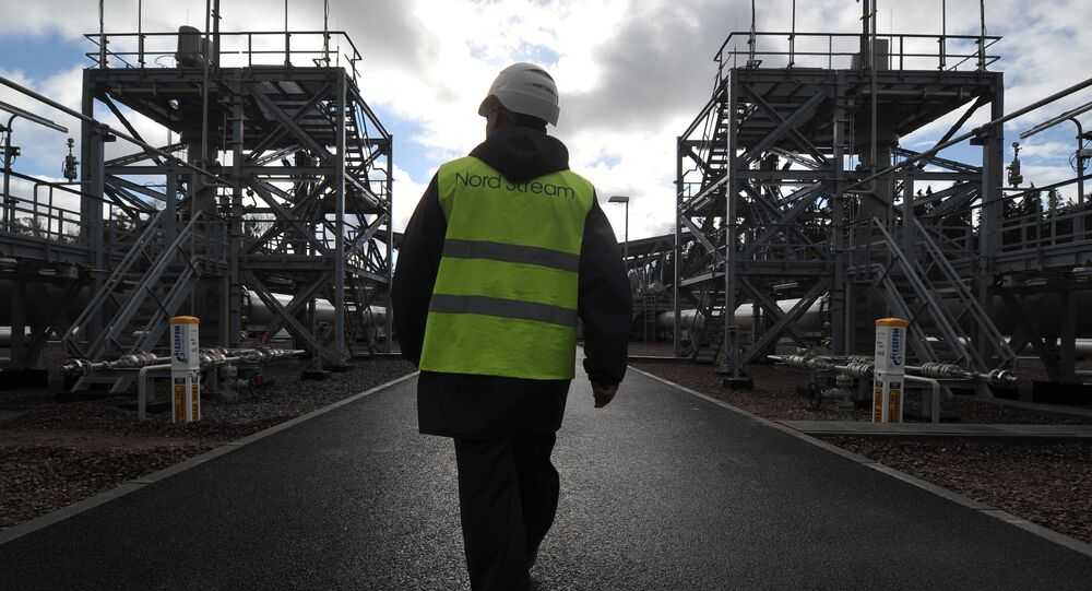 V areálu kompresorové stanice Portovaja , kde byla spuštěna do provozu druhá větev plynovodu Nord Stream
