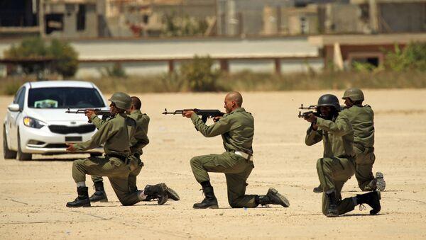 Libyjská národní armáda (LNA) - Sputnik Česká republika