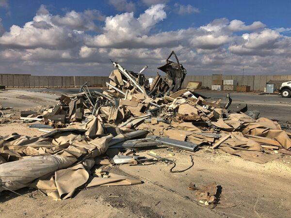 Záběry z ostřelování americké vojenské základny Ajn al-Asad v Iráku - Sputnik Česká republika