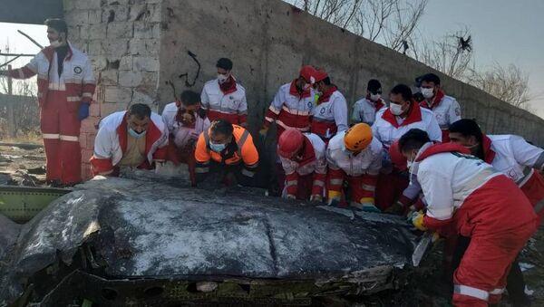 Havárie ukrajinského Boeingu 737-800 v Teheránu - Sputnik Česká republika
