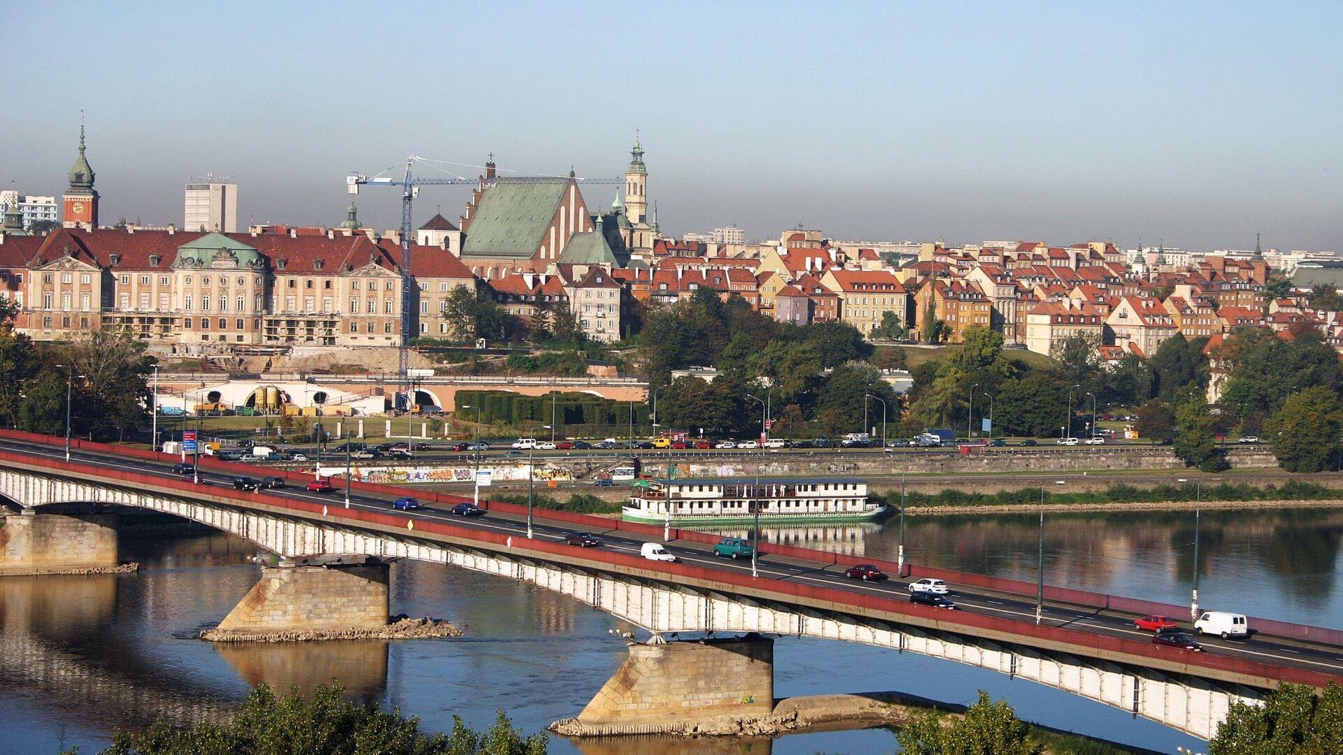 Pohled na Varšavu - Sputnik Česká republika, 1920, 17.08.2021