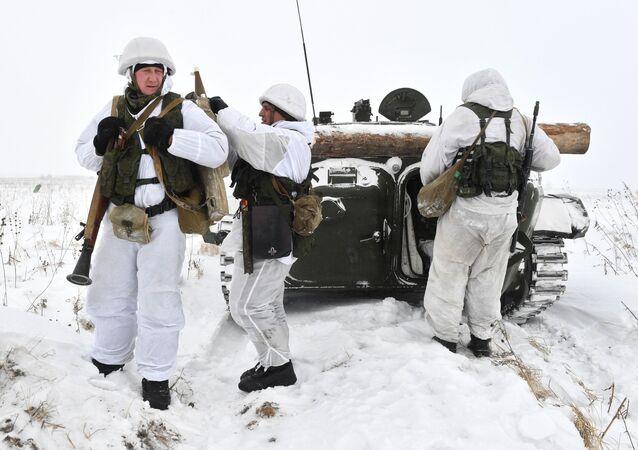 Cvičení v Kemerovské oblasti
