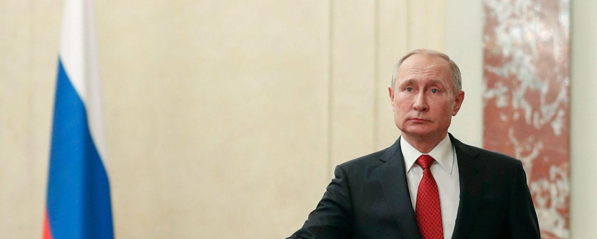 Vladimir Putin - Sputnik Česká republika, 1920, 13.05.2021