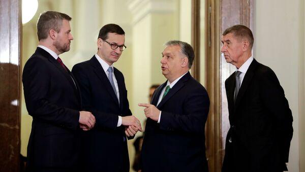 Premiéři zemí V4 - Sputnik Česká republika