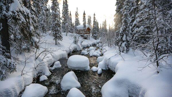 Řeka v Laponské přírodní rezervaci  - Sputnik Česká republika