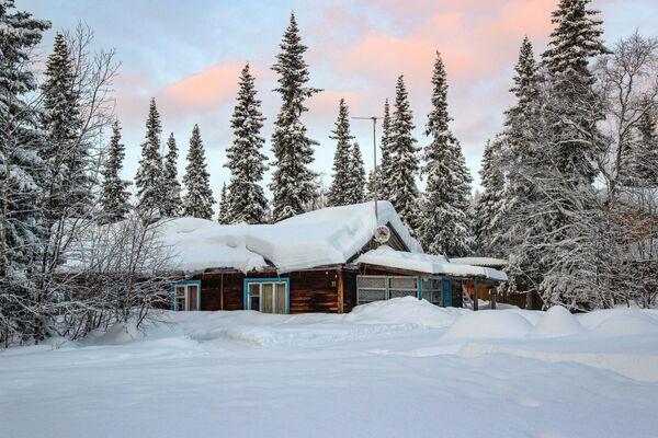 Dům v Laponské přírodní rezervaci - Sputnik Česká republika