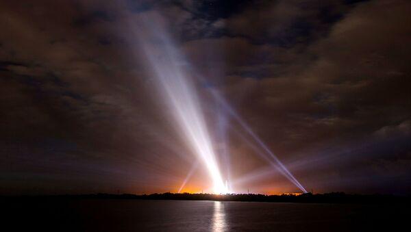 Připrava startu rakety Delta IV na Floridě - Sputnik Česká republika