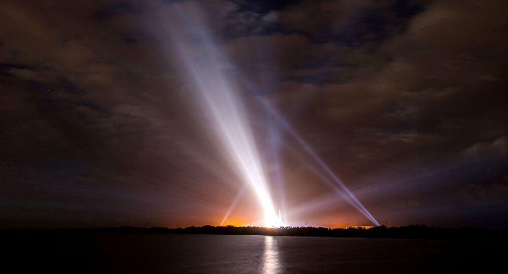 Připrava k startu rakety Delta IV ve Floridě