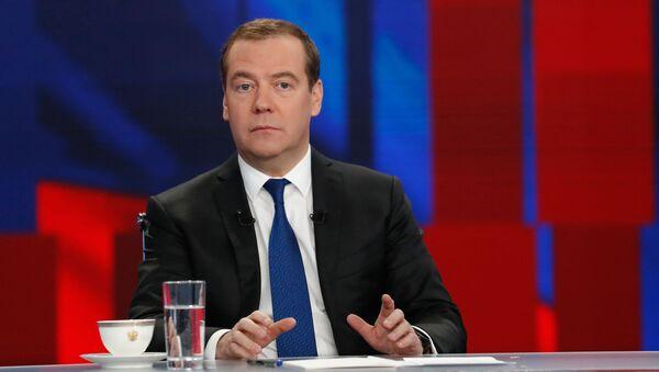 Bývalý ruský premiér Dmitrij Medveděv - Sputnik Česká republika
