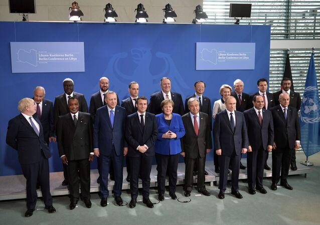 Jednání o Libyi v Berlíně
