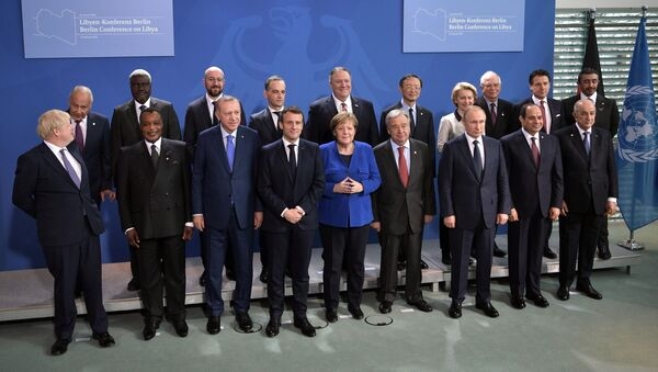 Jednání o Libyi v Berlíně - Sputnik Česká republika