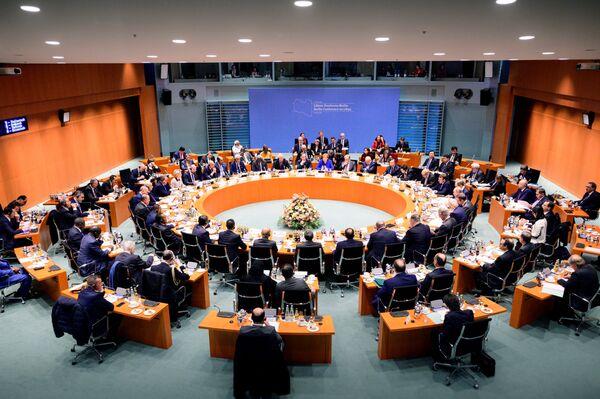 Mezinárodní konference v Berlíně - Sputnik Česká republika