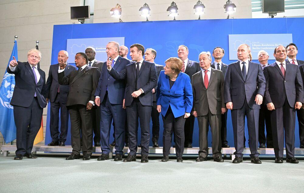 Mezinárodní konference o Libyi v Berlíně