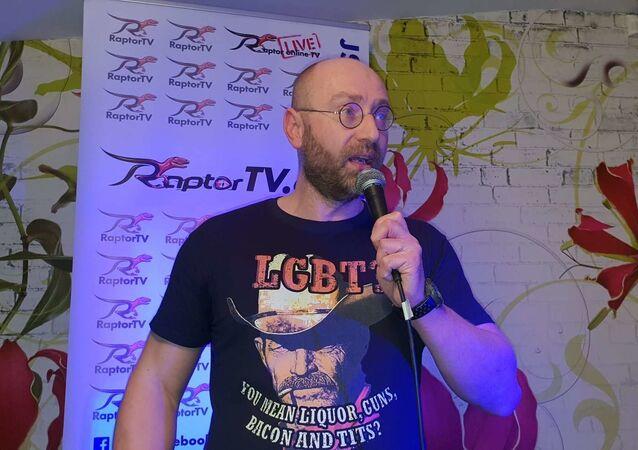 Petr Hampl, mluvčí řeporyjské konference