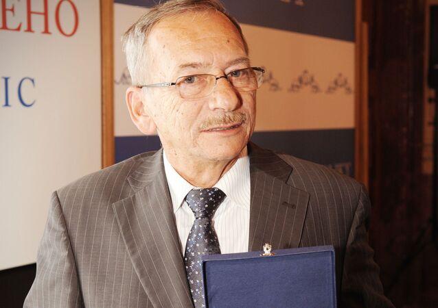 Bývalý předseda Senátu Parlamentu České republiky Jaroslav Kubera
