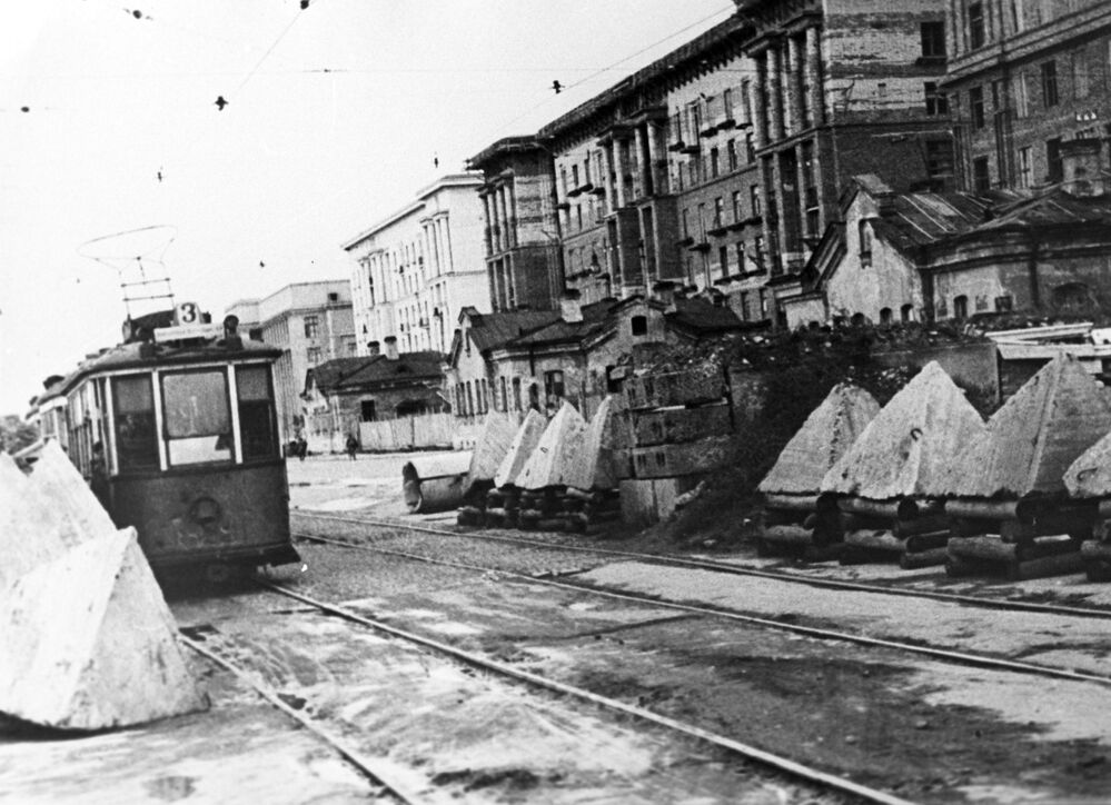Blokáda Leningradu.