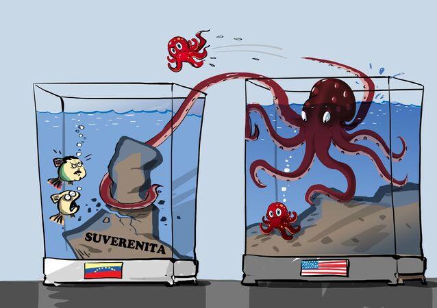 USA pracují na změně vlády ve Venezuele