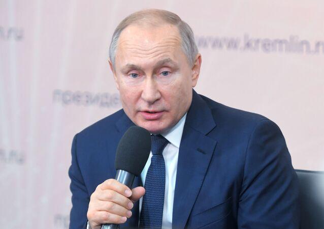 Ruský prezident Vladimir Putin uvedl způsob, jak zabránit přepisování historie 2. světové války