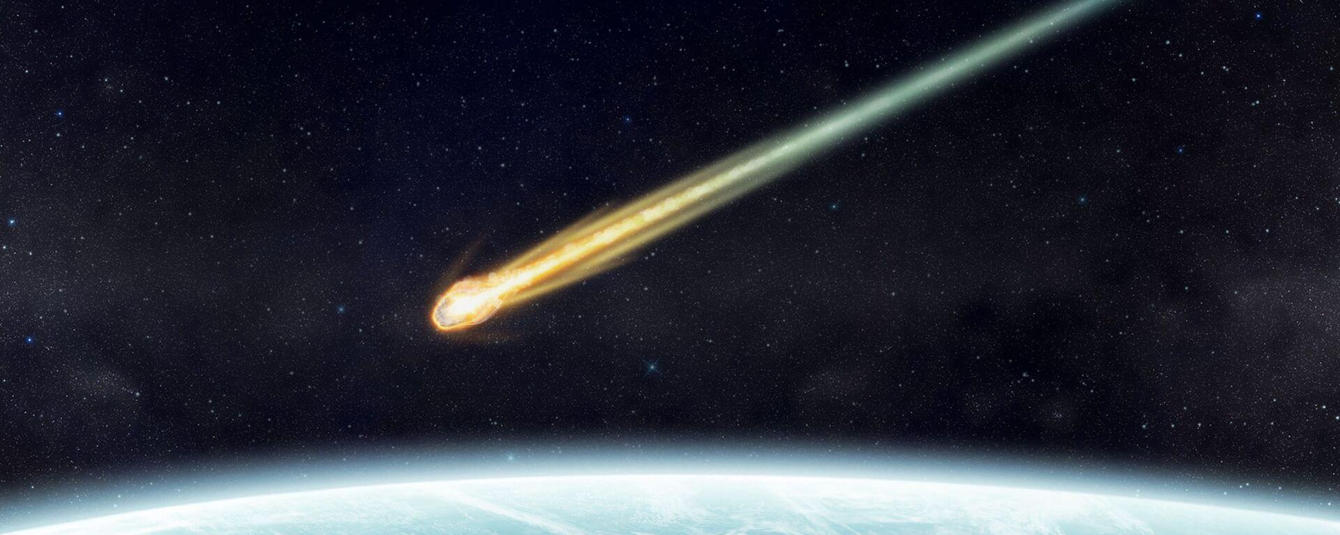 Meteorit. Ilustrační foto - Sputnik Česká republika, 1920, 18.04.2021