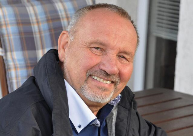 Komunista Pavel Kováčik.