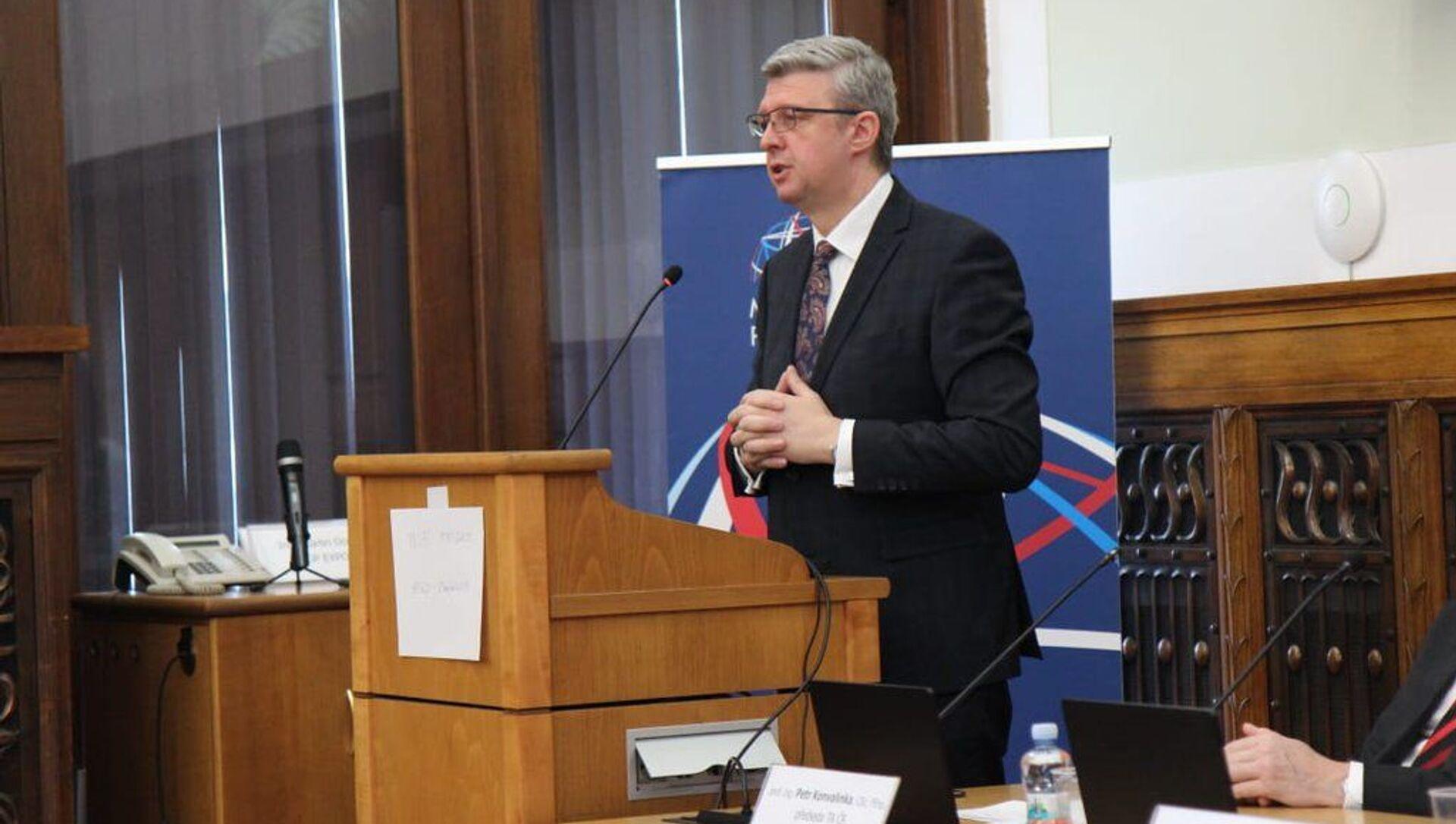 Český ministr průmyslu a obchodu Karel Havlíček - Sputnik Česká republika, 1920, 19.02.2021