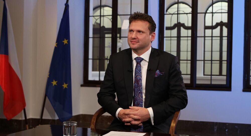 Český politik Radek Vondráček