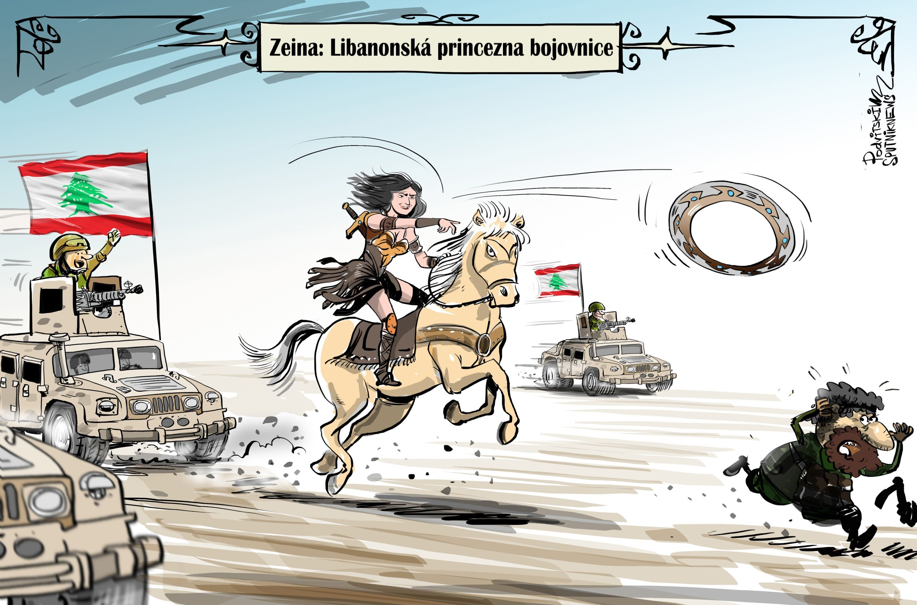 Poprvé v historii arabských států se ministrem obrany stala žena