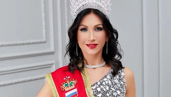 Obyvatelka Petrohradu Ksenia Verbickaja vítězka soutěže Mrs. Classic Universal 2020 - Sputnik Česká republika