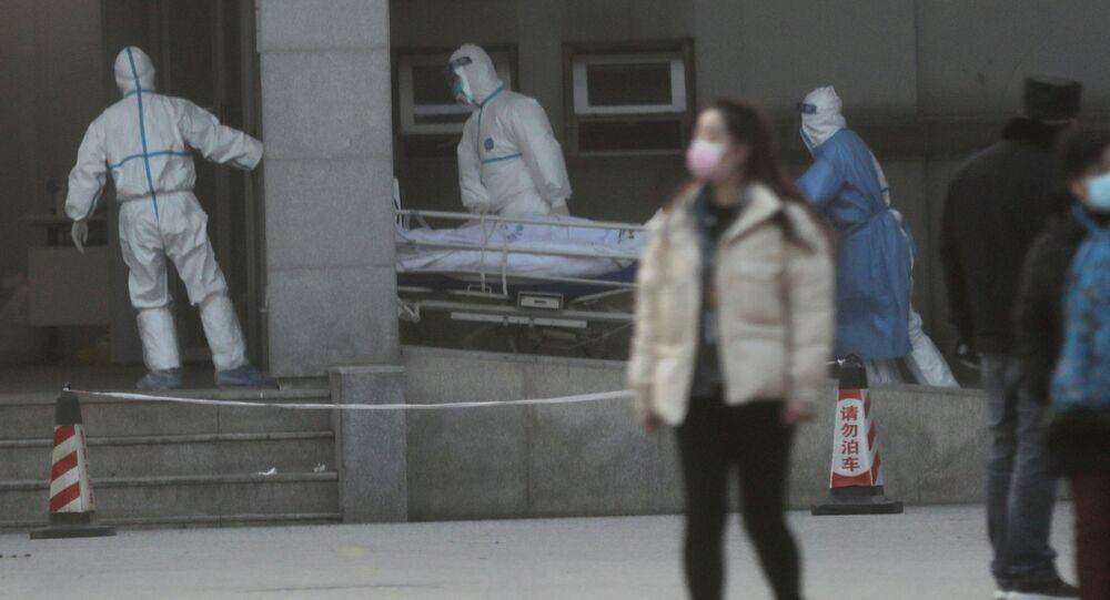 Hospitalizace nakaženého koronavirem ve Wu-chanu